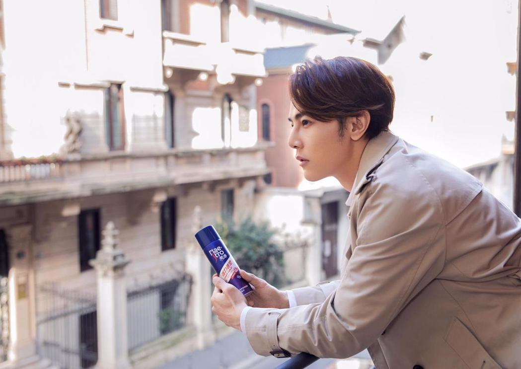 汪東城到米蘭看秀,並安排拍廣告行程。圖/東藝提供