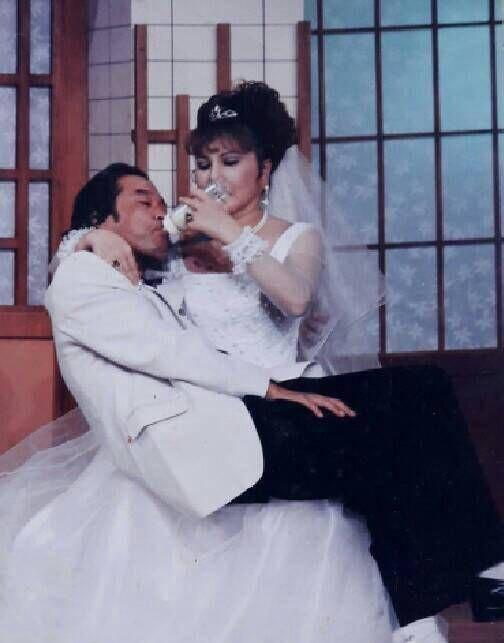 澎澎和老公結婚幾十年,感情很好。圖/澎澎提供