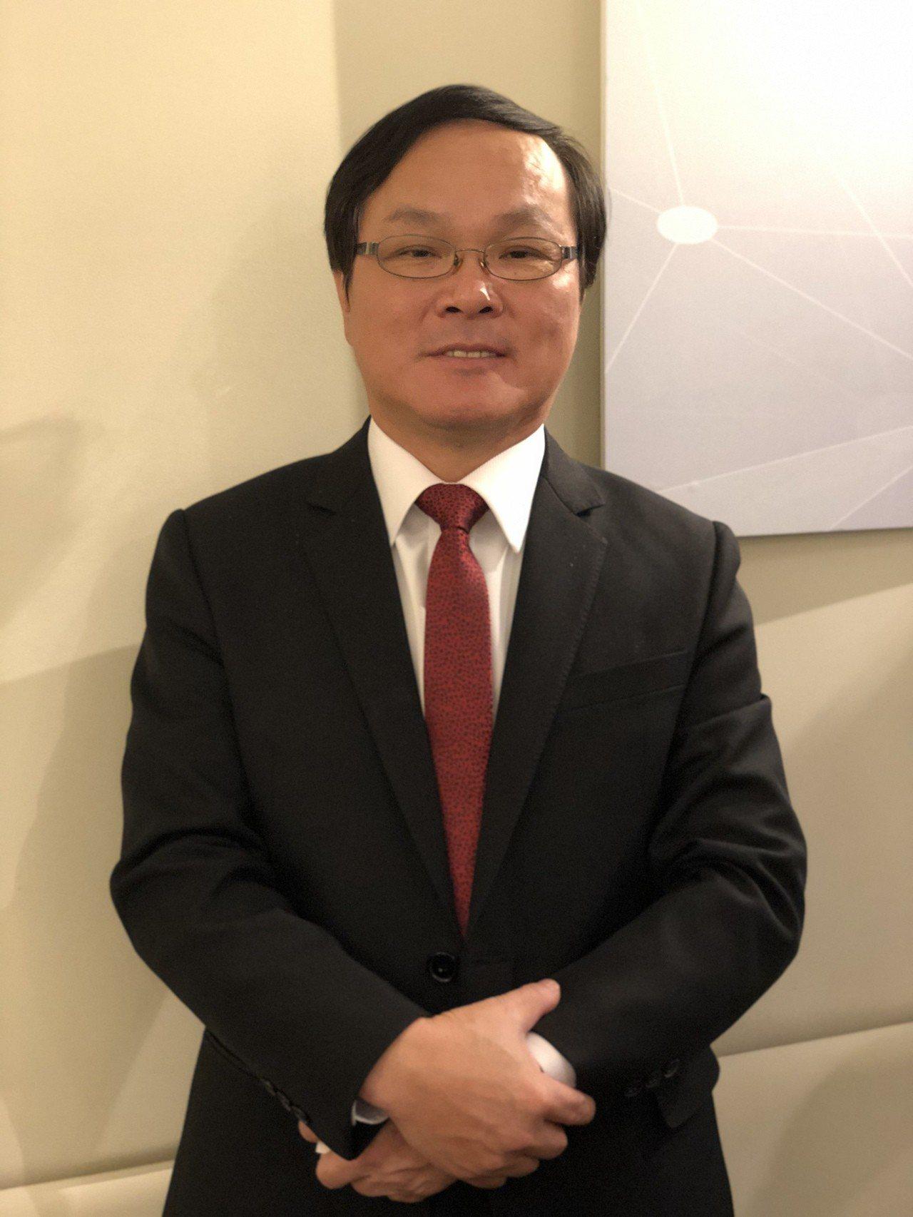 詠昇電子董事長黃塗城。記者蕭君暉/攝影