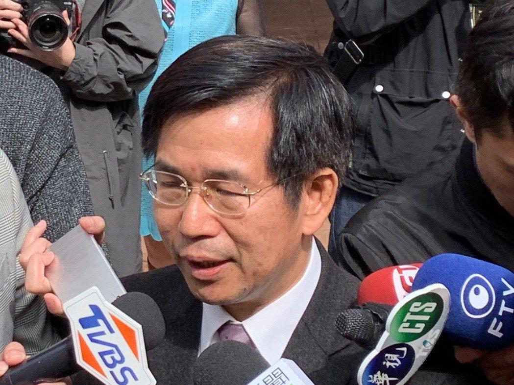 去年4月因管中閔案請辭的潘文忠「回鍋」,再任教育部長。 圖/聯合報系資料照片