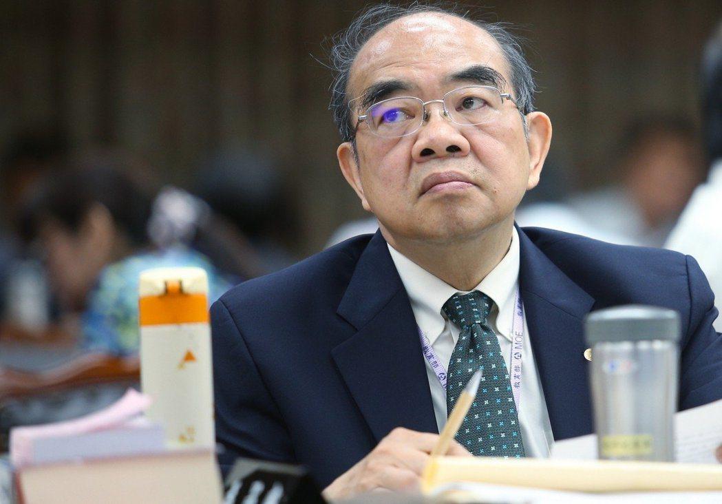 前教育部長吳茂昆。 圖/聯合報系資料照片