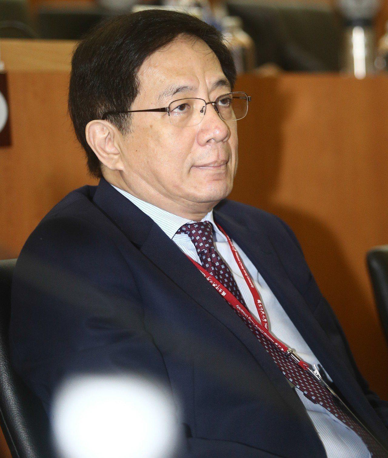 台大校長管中閔日前走馬上任。聯合報系資料照/記者黃仲裕攝影