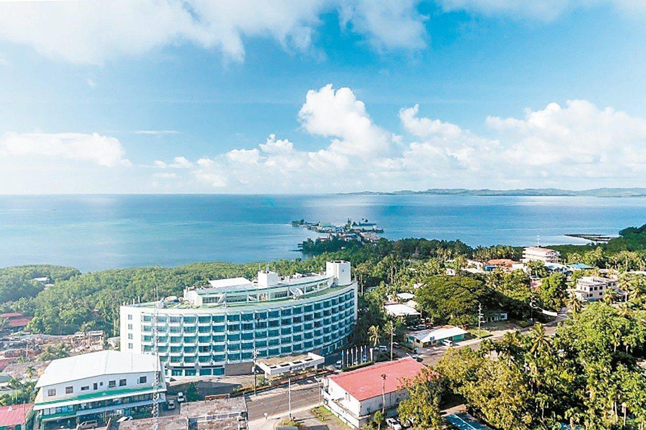 帛琉大飯店。 圖/翻攝自帛琉大飯店官網