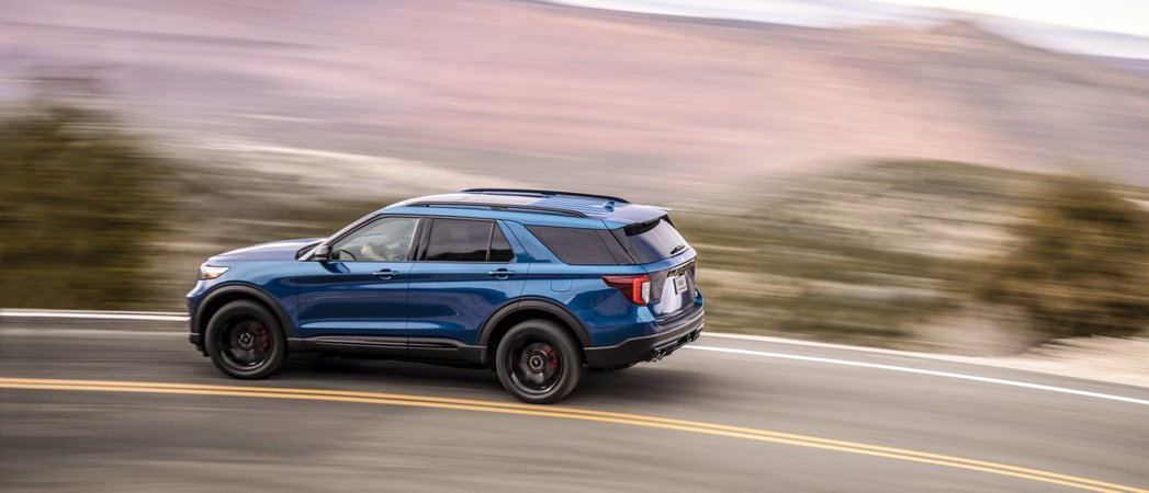 Ford Explorer ST亦是Ford Performance車系中的新成員。 摘自Ford