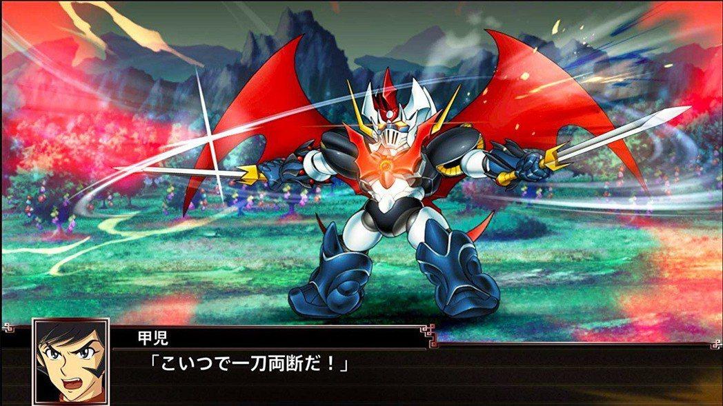 魔神凱薩(マジンカイザー)最早登場於機戰F(圖片為機戰X之遊戲畫面),後來陸續推...