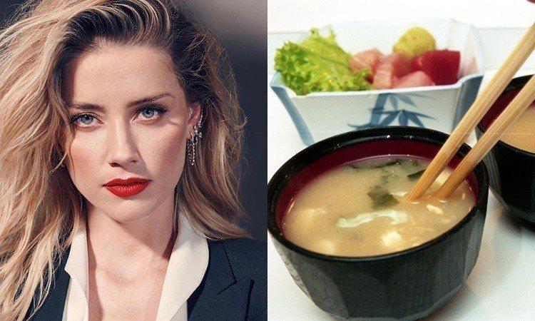 原来味噌汤是减重圣品!《水行侠》安柏赫德每天喝养出辣身材
