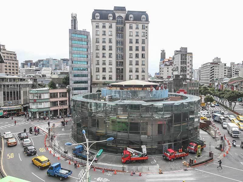曾被譽為是台北廚房的建成圓環,已經成為回憶。 圖片來源/聯合報系資料庫