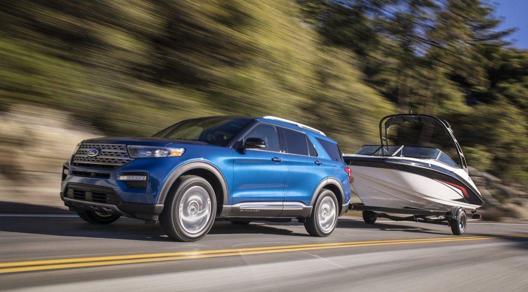 全新Ford Explorer Hybrid擁有318hp的綜效馬力。 摘自Fo...