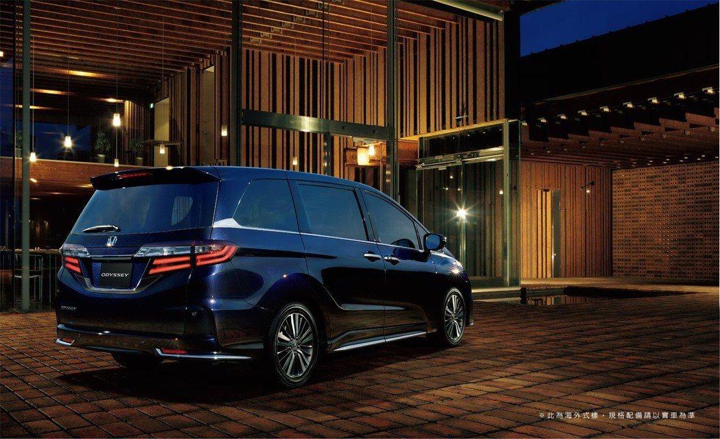 Honda ODYSSEY提供大家庭最舒適的移動過程。 圖/台灣本田提供