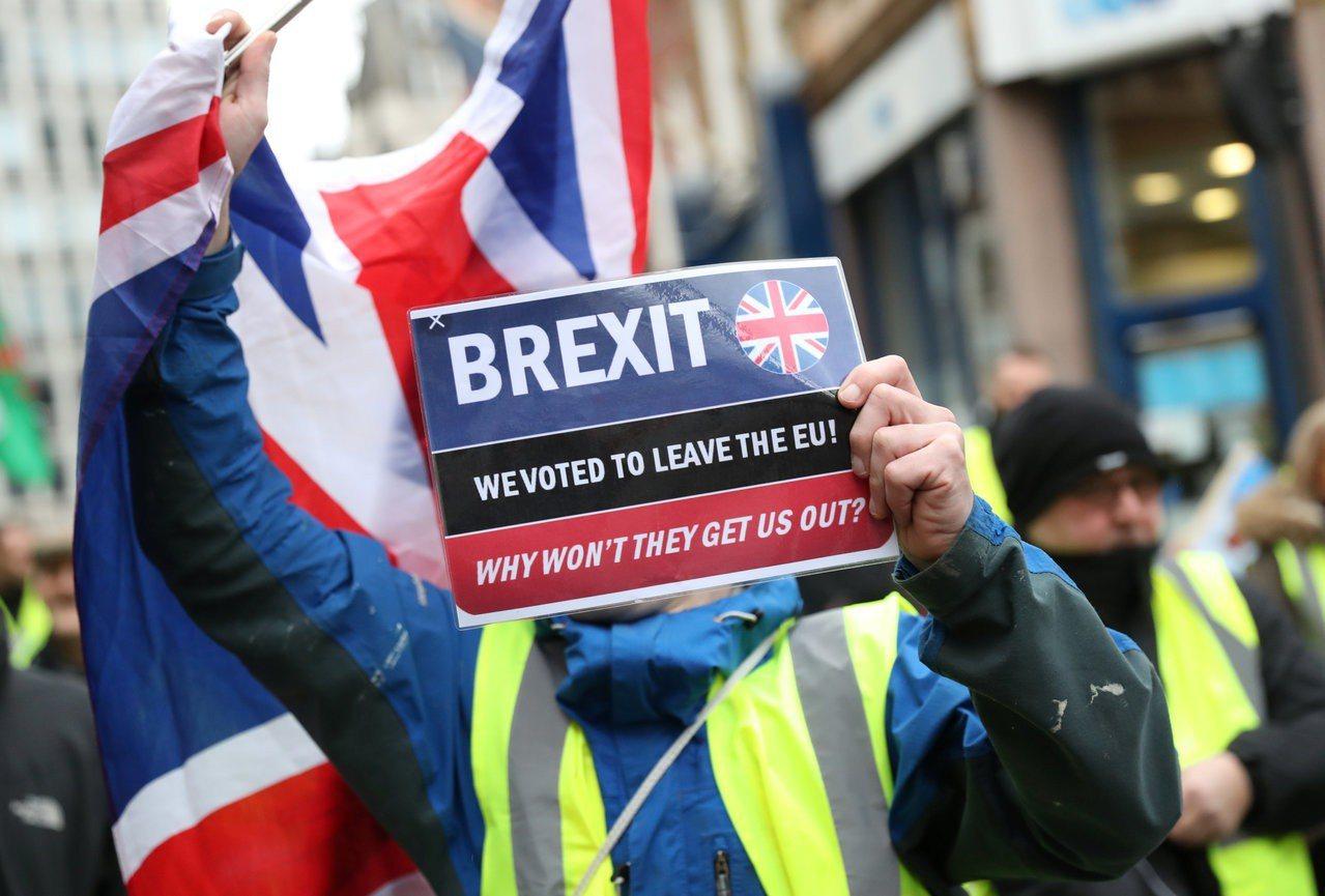 英國脫歐進程充版不確定性。 路透
