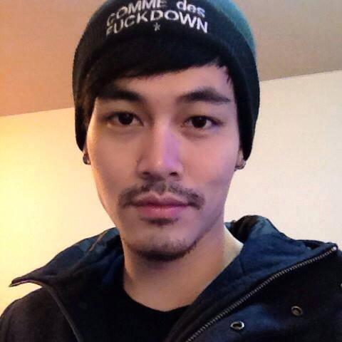 模特兒出身的陳楚翔成了「理科堂哥」。圖/摘自臉書