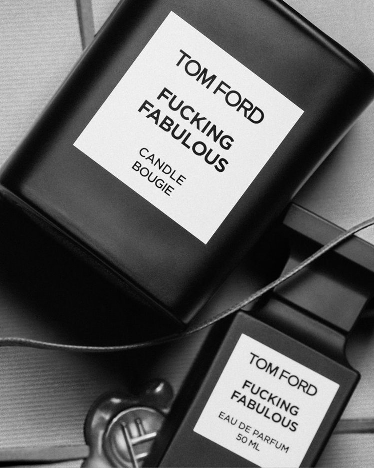 TOM FORD私人調香系列FABULOUS限定版高級訂製香氛蠟燭,售價3,60...
