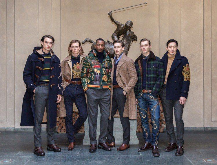 Ralph Lauren也在米蘭男裝周期間以發表會方式推出2019秋季系列。圖/...