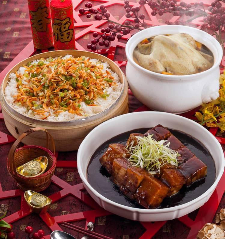 礁溪長榮鳳凰酒店推出3道米其林外帶年菜,是東京與曼谷師傅傳授的鎮店之寶。圖/礁溪...