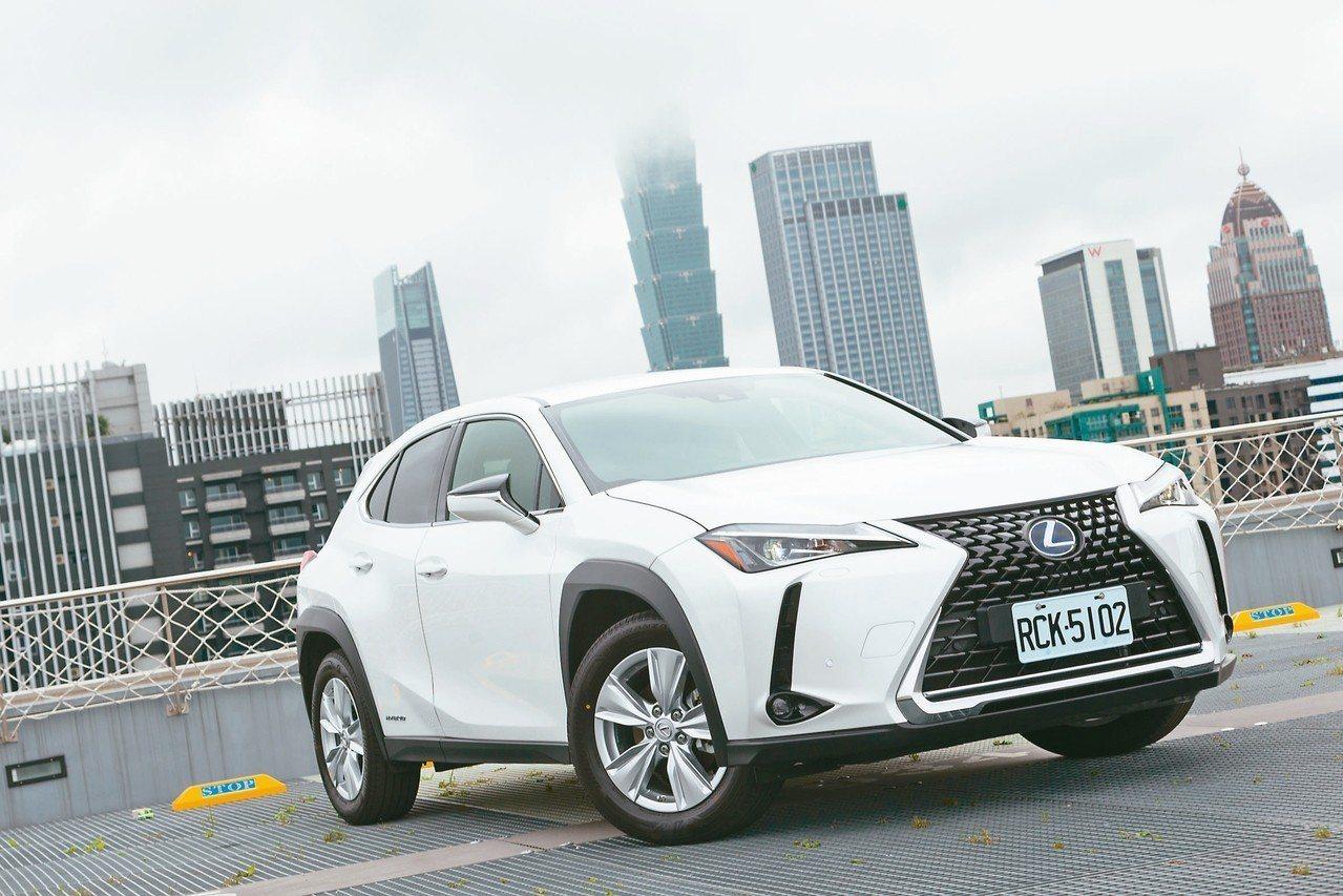 Lexus總代理和泰汽車針對旗下全新跨界休旅UX新增油電車型UX 250h,建議...