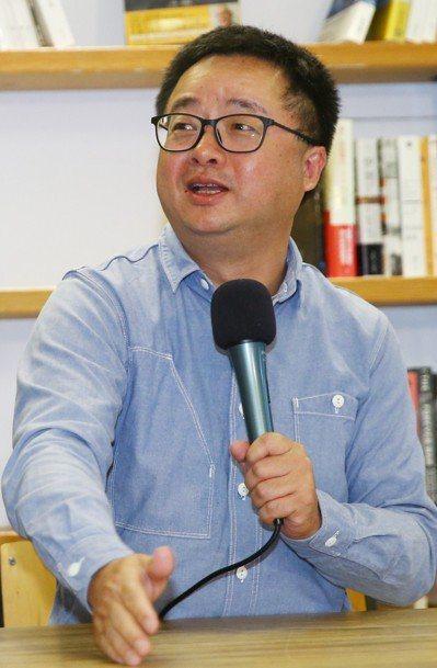 羅文嘉出任民進黨秘書長,學運世代綠委認為,這是象徵青壯世代承擔責任。 圖/聯合...