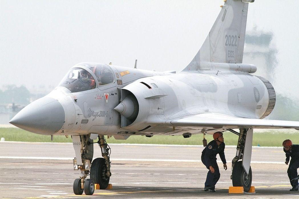 幻象2000-5戰機。圖/聯合報系資料照片