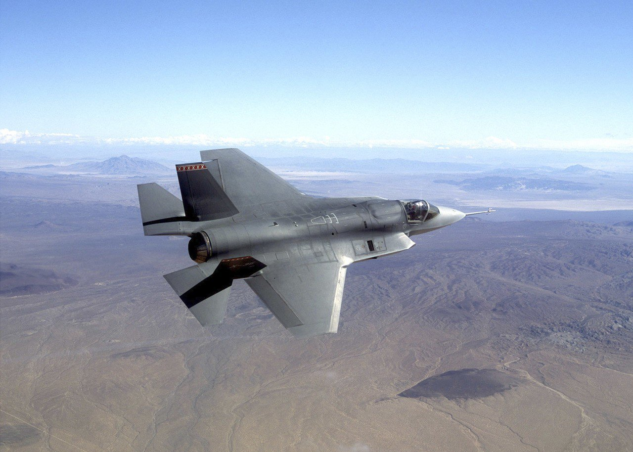 號稱最尖端的F35戰機。(美聯社)