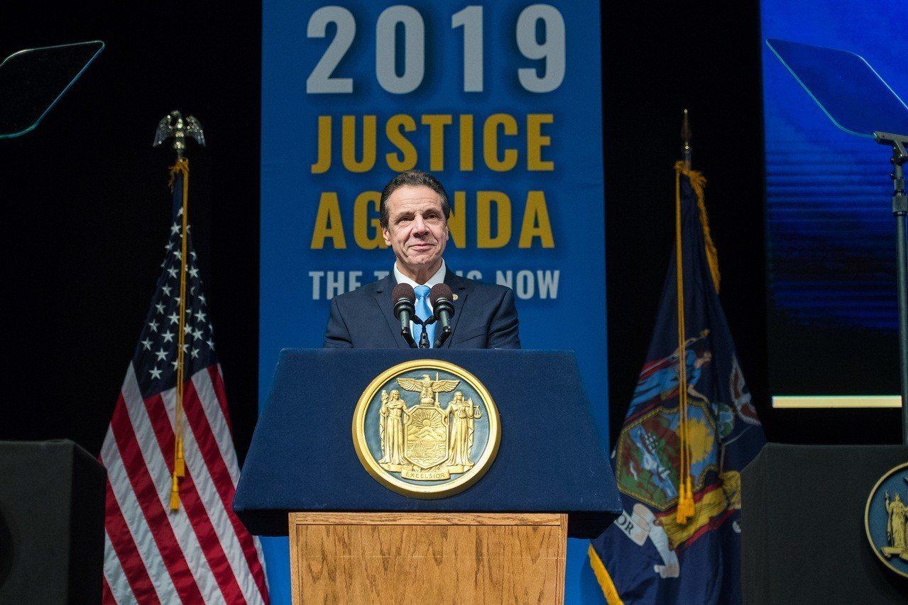 州長葛謨(Andrew Cuomo)15日發表州情咨文演說,並公布2019至20...