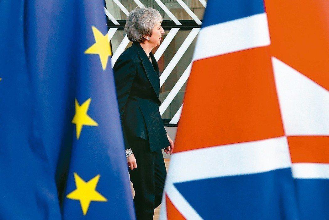 梅伊領導的英國若無協議脫歐,學者認為英國可能更積極與亞洲等國簽訂貿易協議。 路透...