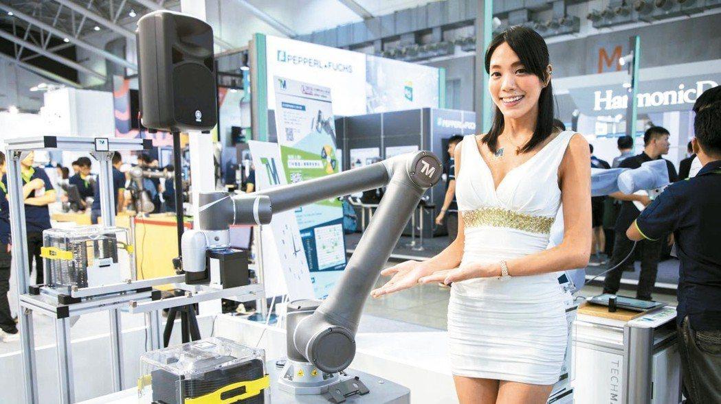 廣明旗下自有品牌達明機器人。 達明/提供