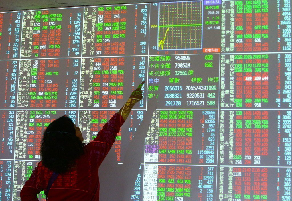 台股今日盤中指數再創今年新高點。聯合報系資料照/記者陳柏亨攝影