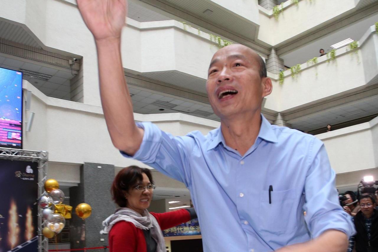 高雄市長韓國瑜。聯合報系資料照