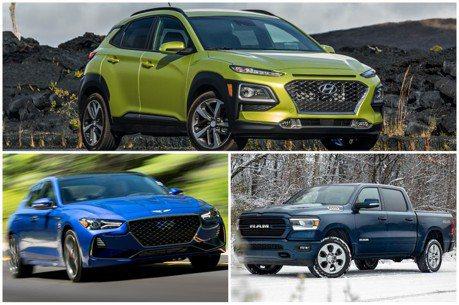 2019北美年度風雲車出爐 Hyundai成最大贏家!