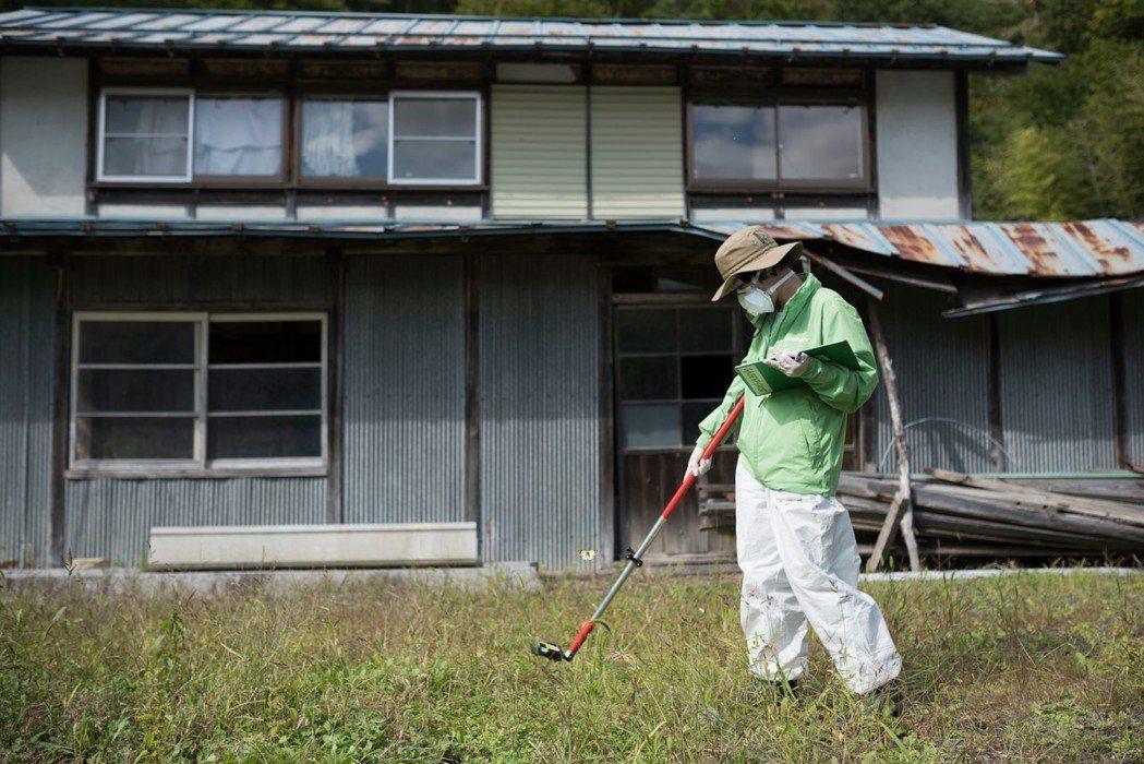 日本綠色和平組織調查福島的汙染狀況。 圖/歐新社