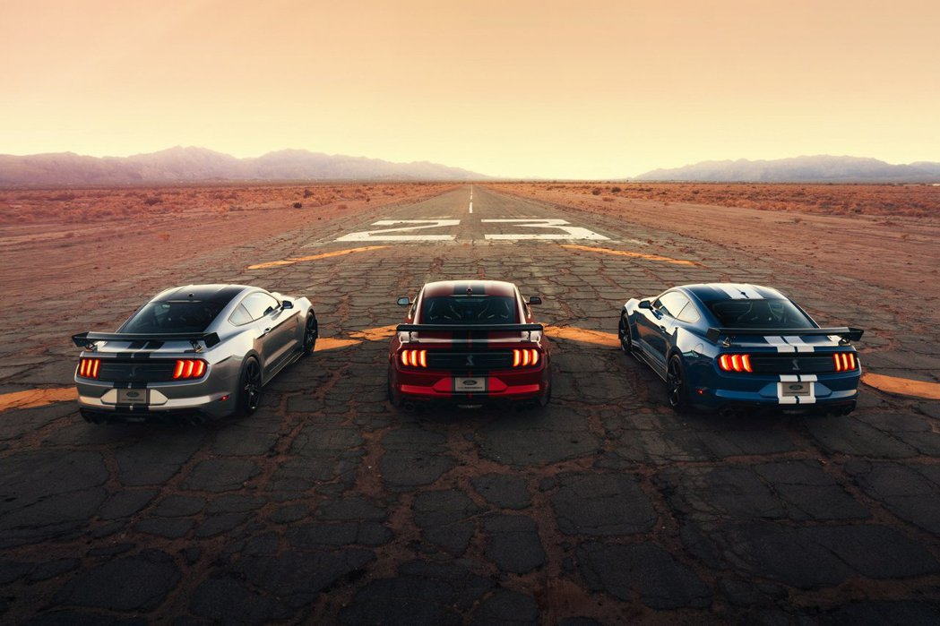 Ford Mustang Shelby GT500。 摘自Ford