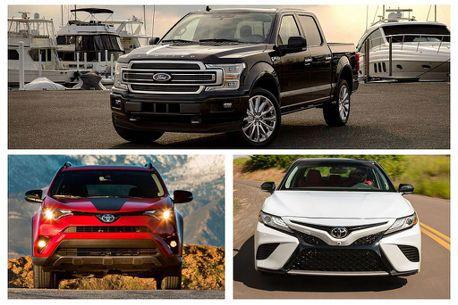 美系皮卡、日系休旅/房車!美國2018汽車銷售演變為三大級距