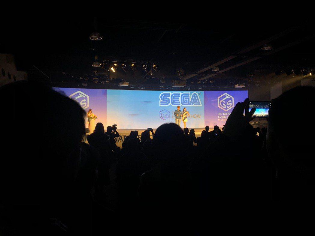 SEGA由宣傳部經理太田裕紀先生項大家宣布展出細節。