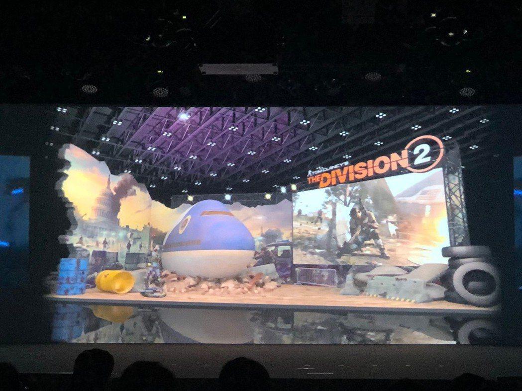400公分的「空軍一號」將在Ubisoft攤位現身。