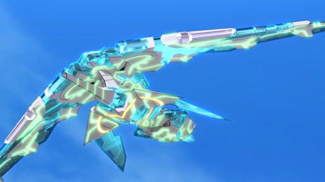 描述得像是外星生物,但「災」也就是長相比較特殊的戰機,普通戰機無法與之抗衡。
