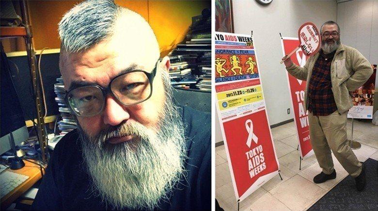 田龜源五郎平時也參與LGBT與HIV者的權益推廣活動。 圖/取自田龜源五郎臉書