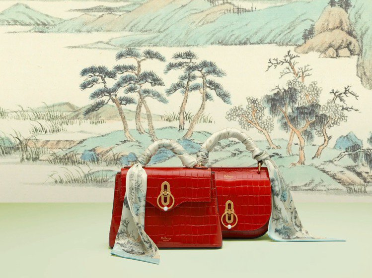 MULBERRY新年系列Scarlet Bags。圖/MULBERRY提供
