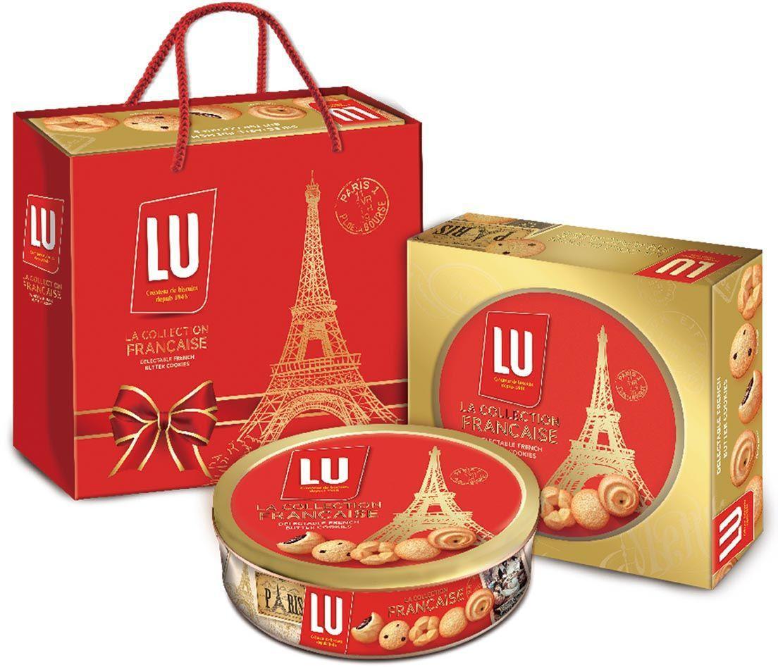 LU法式奶油餅乾綜合禮盒,售價249元。圖╱家樂福提供