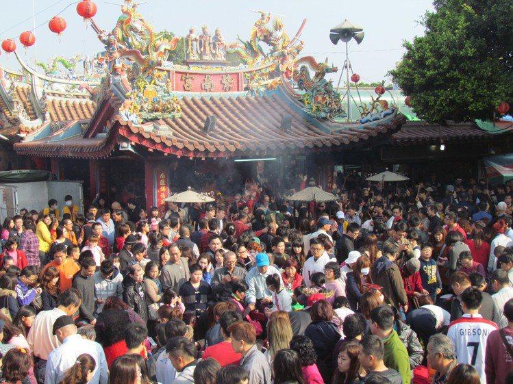 紫南宮是台灣著名的求財聖地。圖/報系資料照