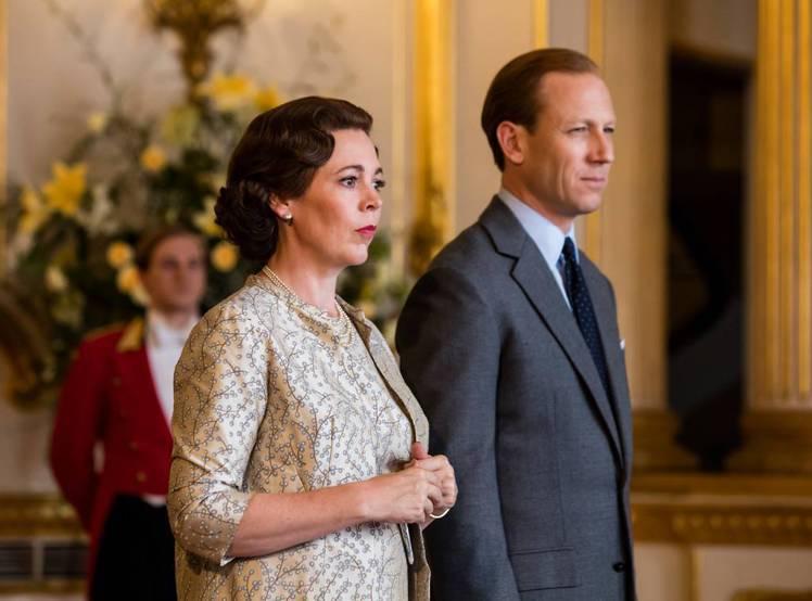 「王冠」今年推出的第3季換一批演員來扮演中年時的英國皇室成員。圖/擷自Netfl...
