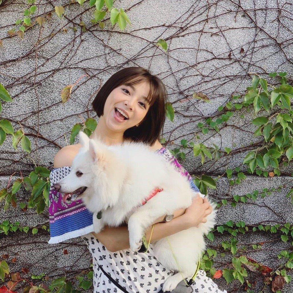 蔡祥過年也會包紅包給愛犬。圖/伊林提供