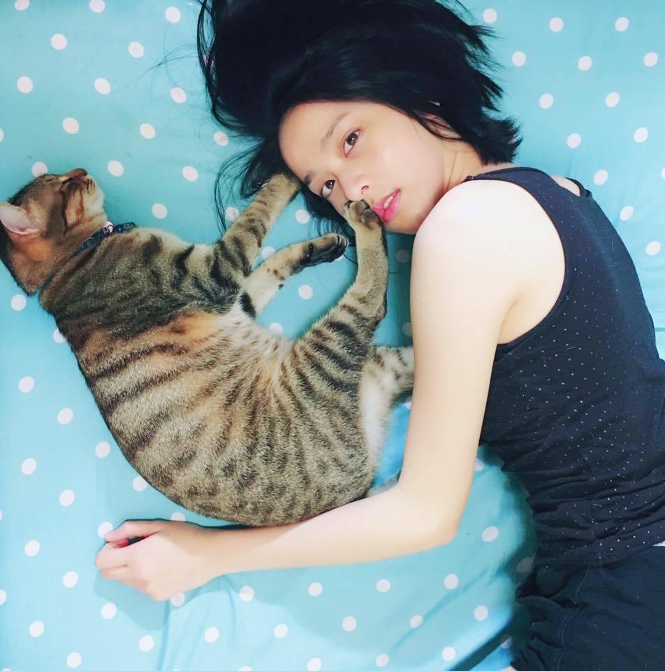 蔡祥和貓。圖/伊林提供