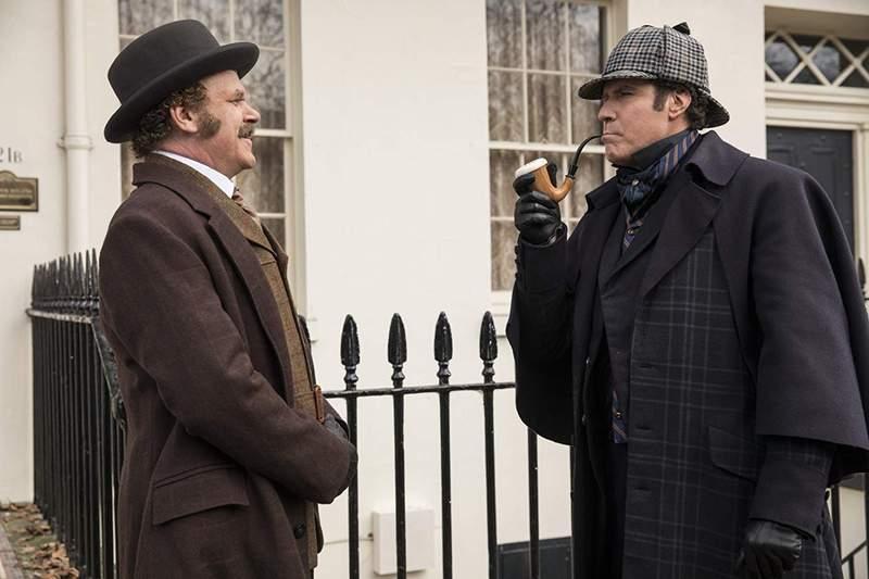 「福爾摩濕與滑生」將以爆笑角度重新詮釋名偵探福爾摩斯的傳奇故事。圖/索尼提供
