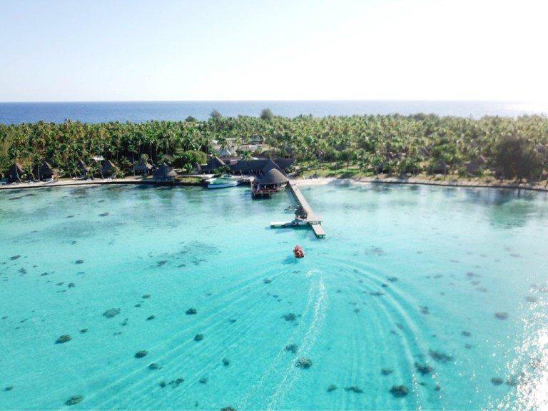 島上最高級的渡假村-Hotel Kia Ora Resort & Spa, Ra...