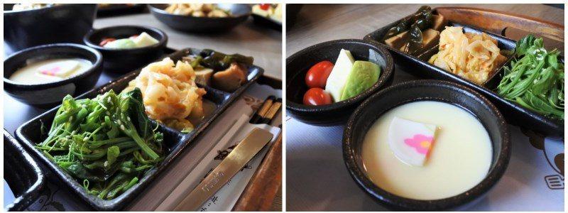 (圖/台灣旅行趣) ▲配菜及水果部分會隨著季節而變化哦!