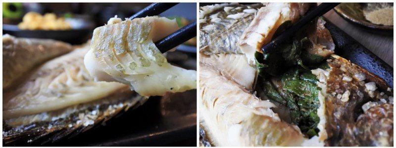 (圖/台灣旅行趣) ▲魚皮超好撥開,夾取魚肉輕而易舉。到魚肚部位後更是嘆為觀止,...