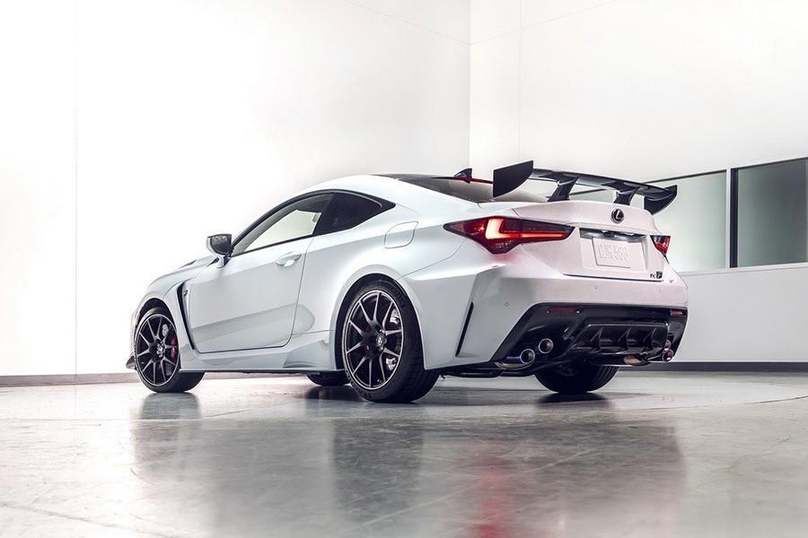 2020 Lexus RC F現身!限量Track Edition特仕版性能更極致!