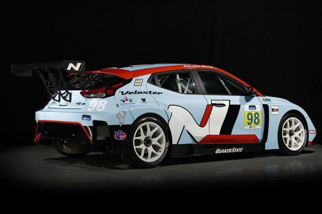 350hp的Hyundai 賽道限定Veloster N TCR!