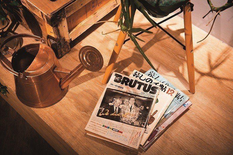 獨立雜誌,特別是絕版的經典雜誌,是薄霧書店的選書主題。(攝影/林俊耀)