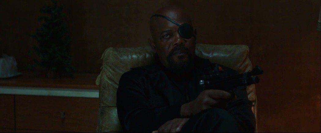 山繆傑克森也在「蜘蛛人:離家日」演出。圖/翻攝自YouTube