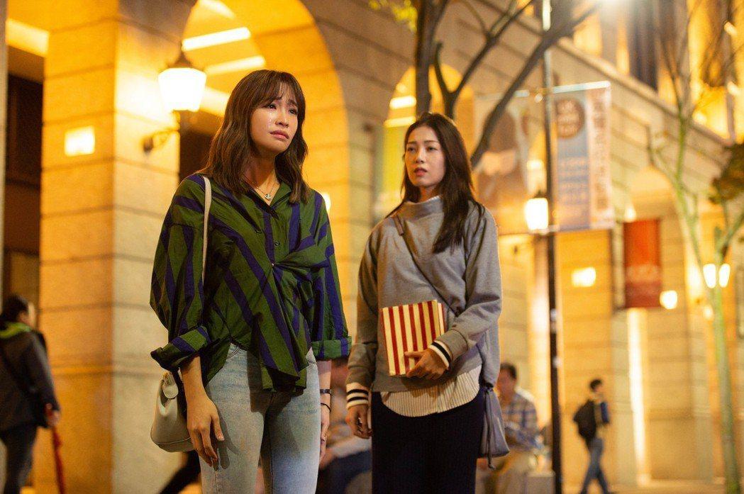 袁詠琳(左)。圖/杰威爾音樂提供